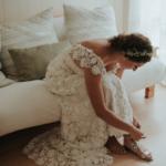 Jewish cottage wedding at Swan Lake in Port Carling by Toronto wedding photographer Daring Wanderer // www.daringwanderer.com